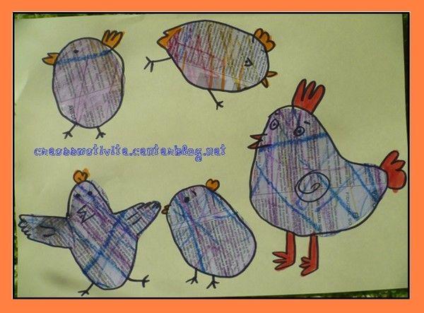Bricolage animaux assiette en carton - Bricolage en papier journal ...