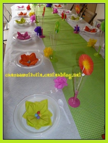 Creassmativite l 39 enfant est artiste page 10 - Decoration table printemps ...