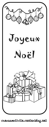 Marques pages de no l 6 - Marque place de noel a imprimer gratuitement ...