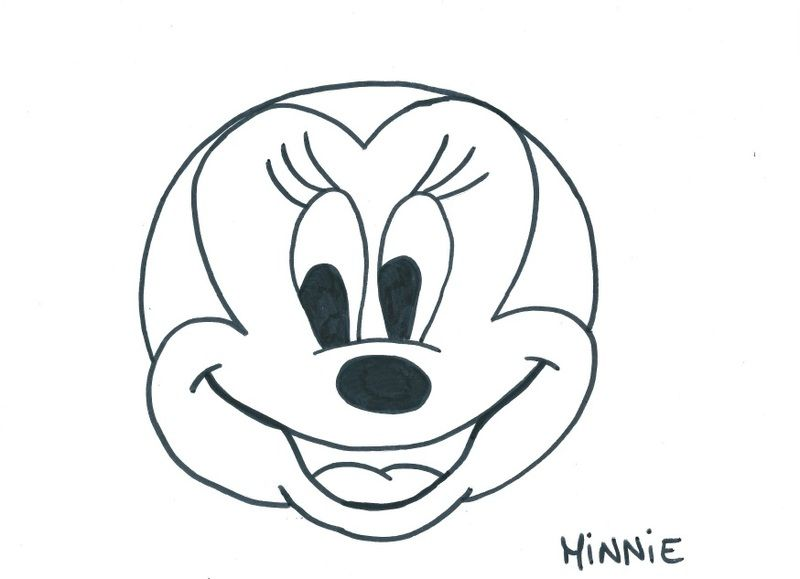 Masque minnie - Coloriage tete mickey ...