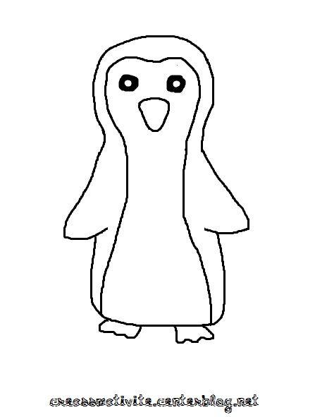 Bricolage hiver page 2 - Coloriage pinguin ...
